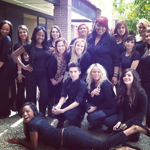 Aveda Baton Rouge Students