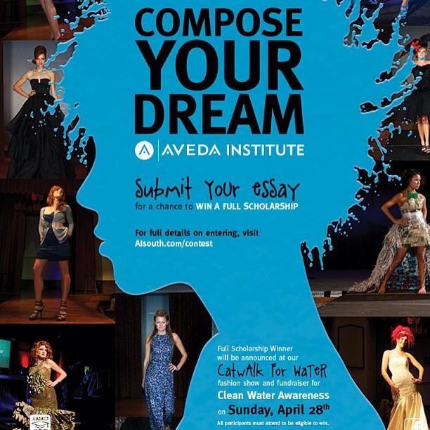 aveda institute beauty school scholarship contest