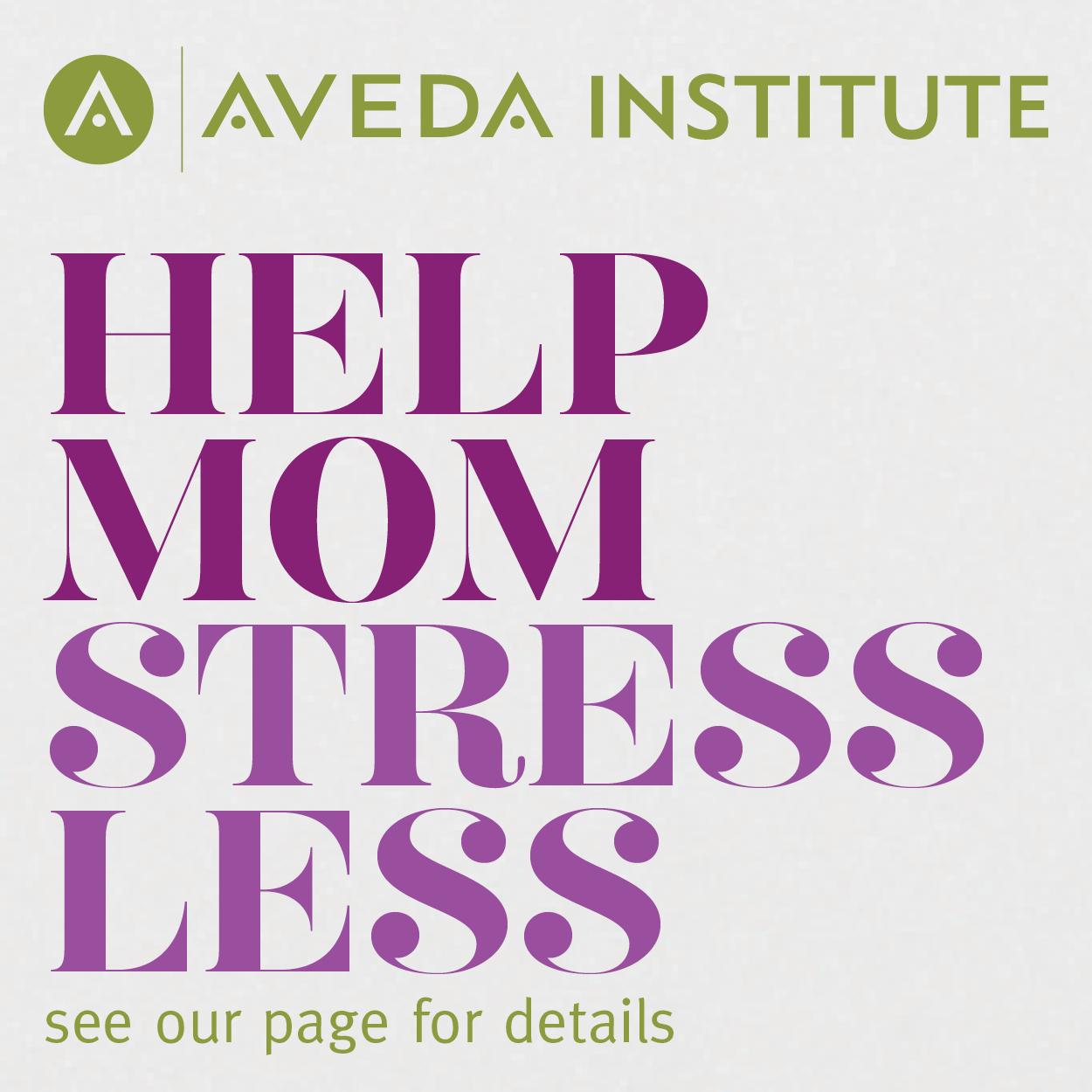 AVEDA beauty school mother's day deals