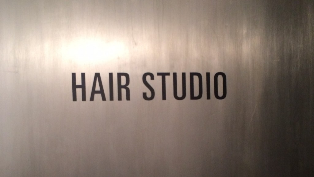 Image of hair studio sign