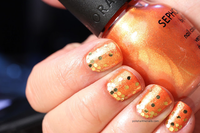 Image pf Pumpkin Nail Art