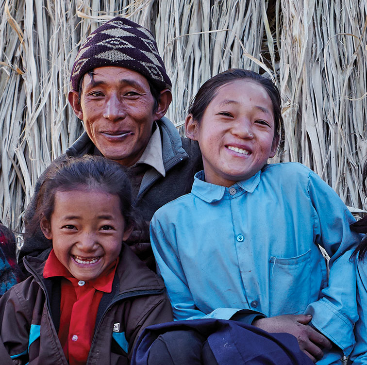 Aveda Holiday Gift Sets give back to Nepal