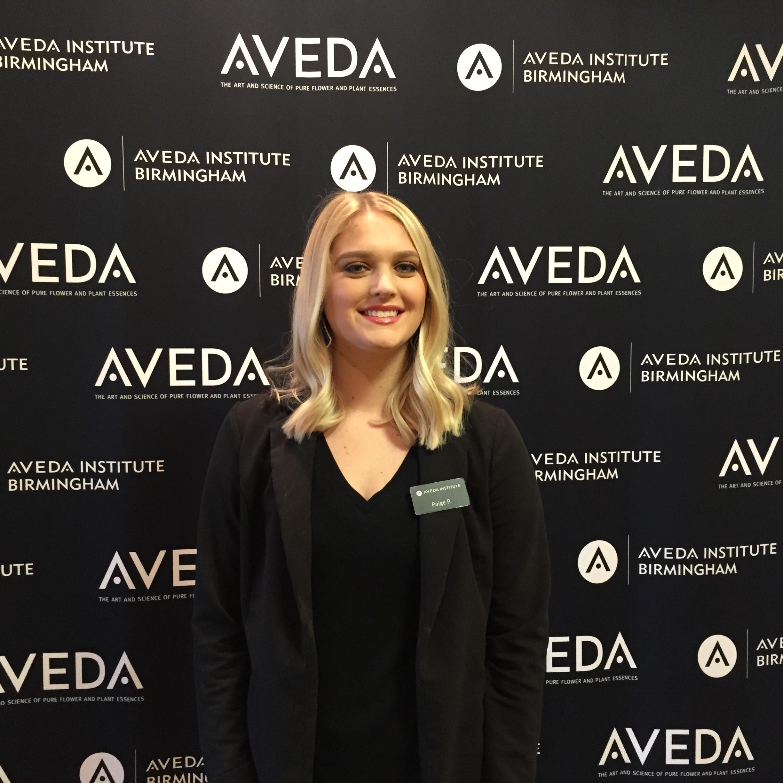 image of aveda institute birmingham student