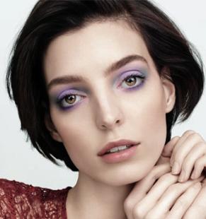 Amethyst Dawn Makeup Look