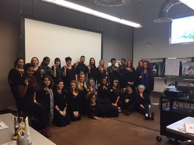 South Florida Beauty School Students