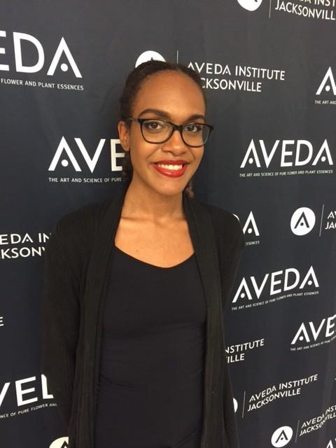 beauty image of aveda institute jacksonville student