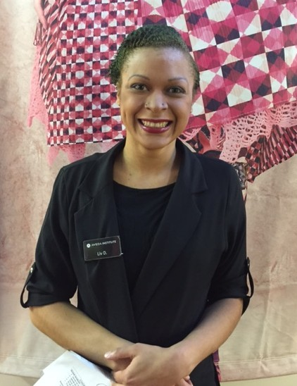 beauty school student from aveda institute south florida