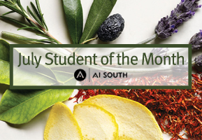 July Aveda student of the Month