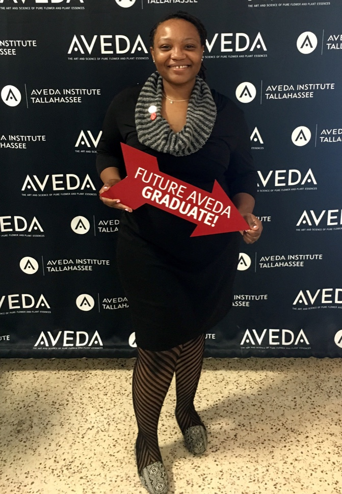 Tallahassee Aveda Student