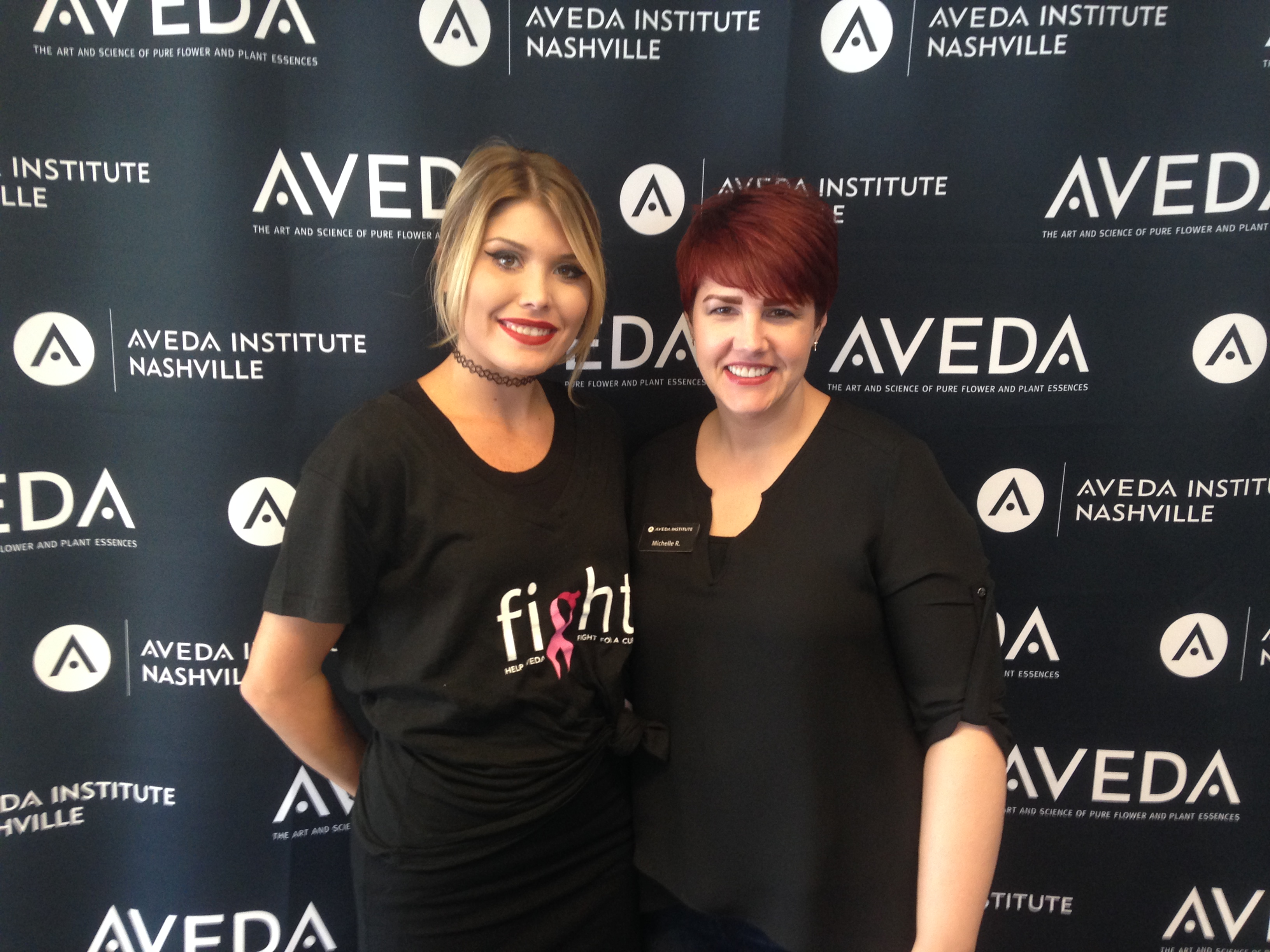 Aveda Institute Students