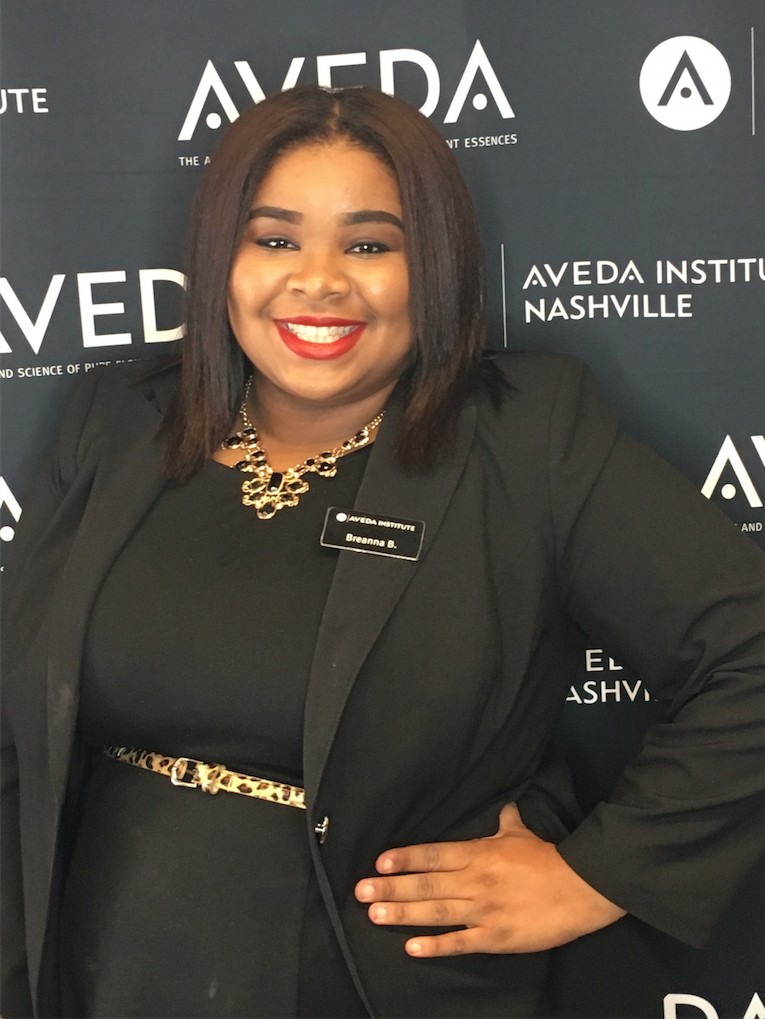 Image of Aveda Student