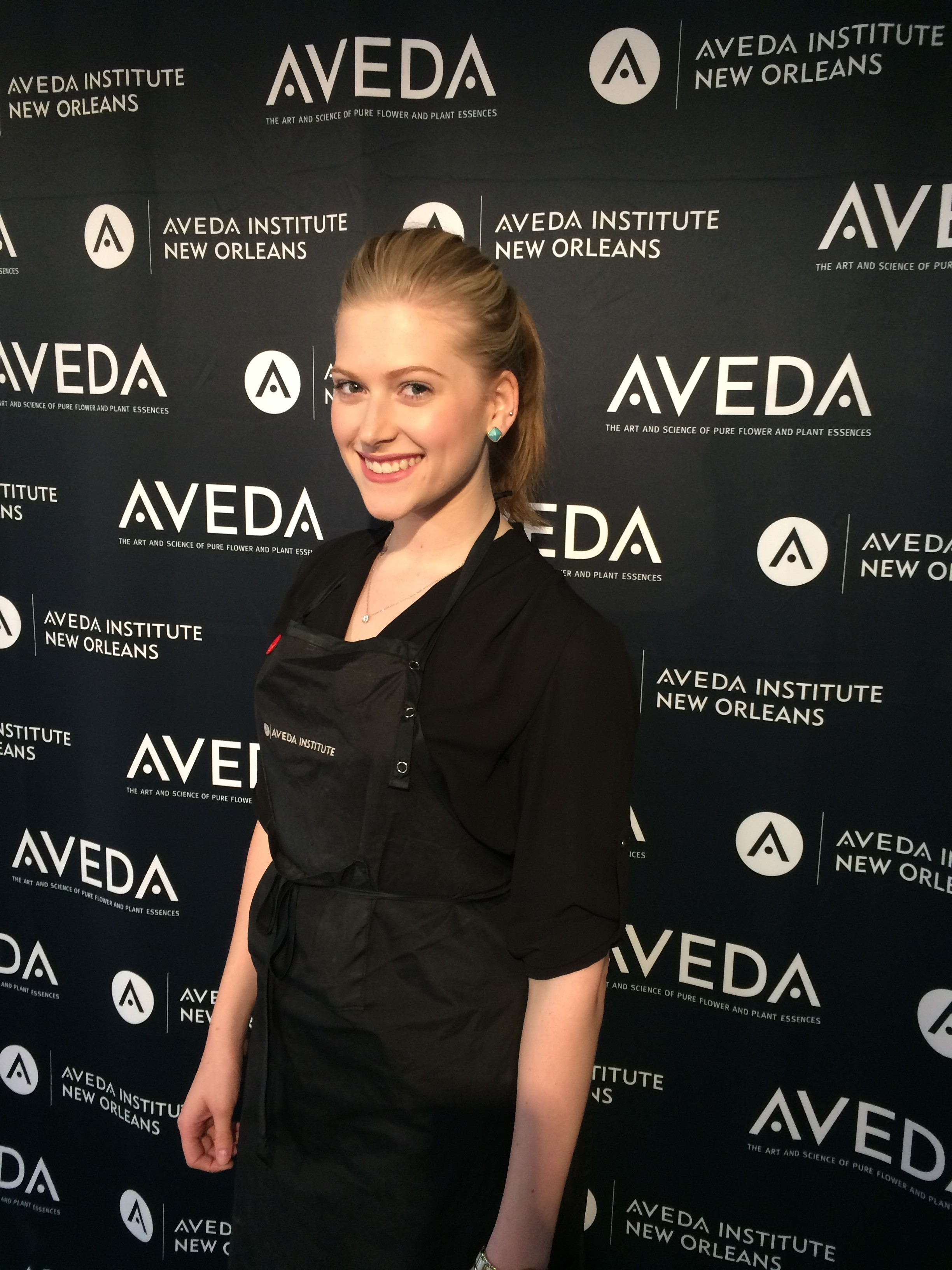 Image of Aveda Beauty School Student