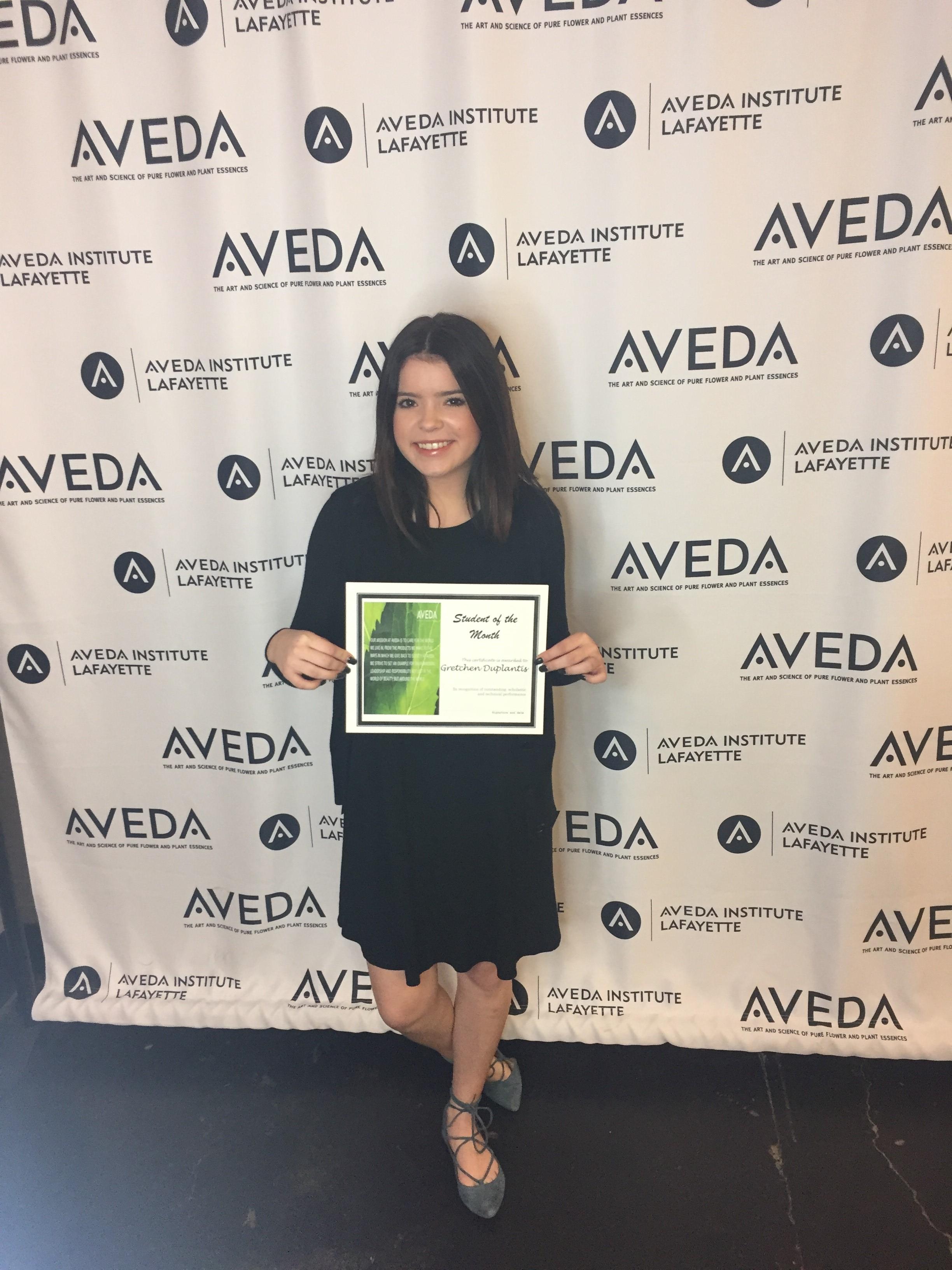 Image of Aveda Lafayette Student