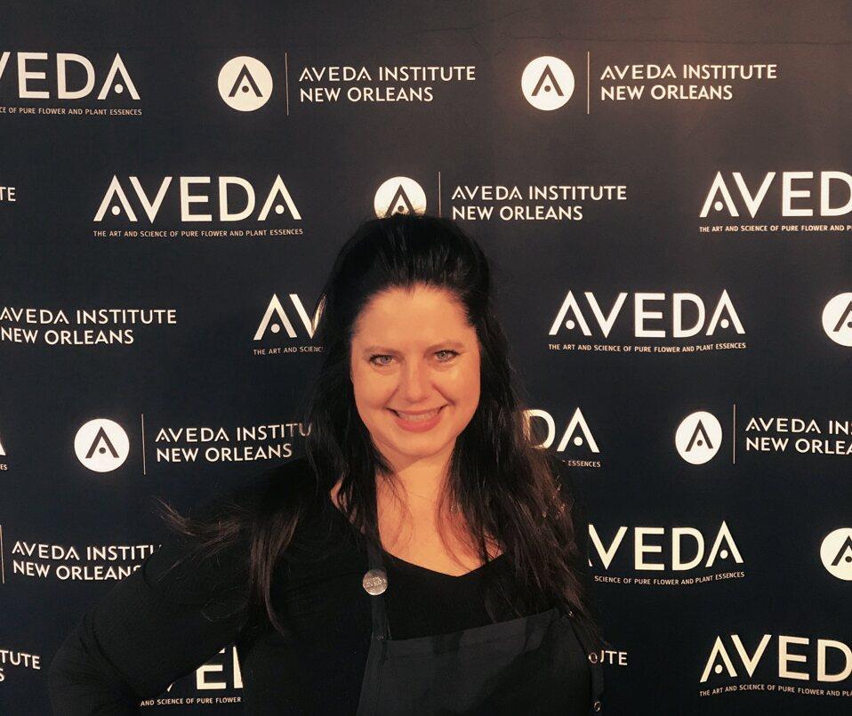 Image of Aveda Student