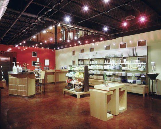Aveda Institute New Orleans Beauty School Retail Area