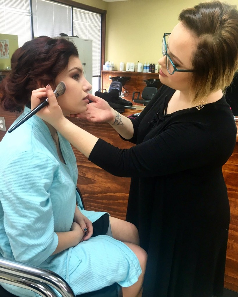 Baton Rouge Makeup Student Beauty School