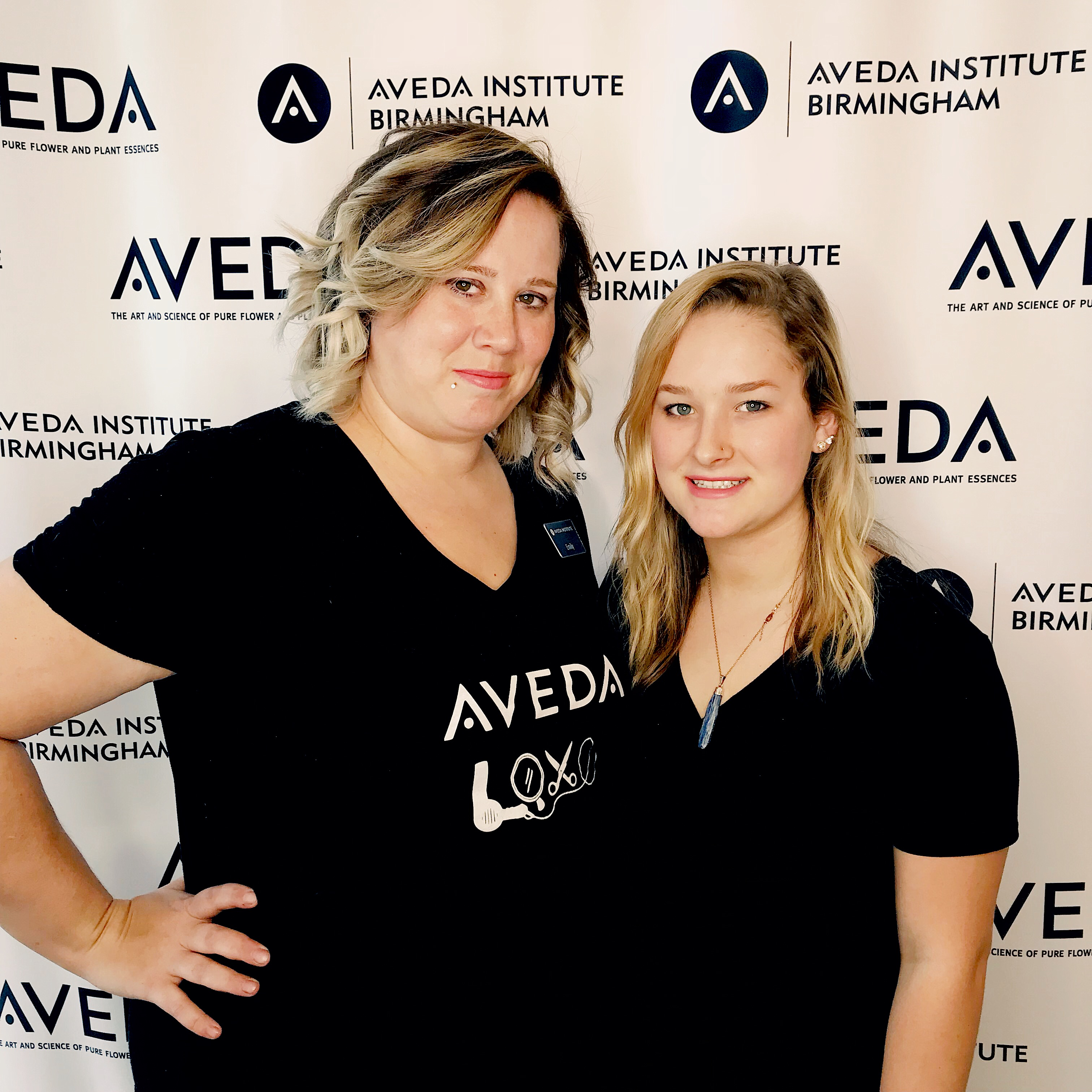 Aveda Arts & Sciences Institute Birmingham Cosmetology students
